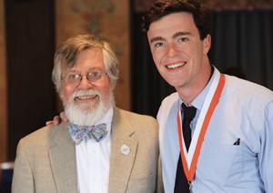 RJ Vogt with Dr. Kovac